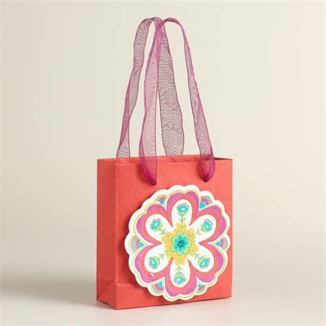 Handmade Gift Bags - mini and louisa handmade gift bags set of 2