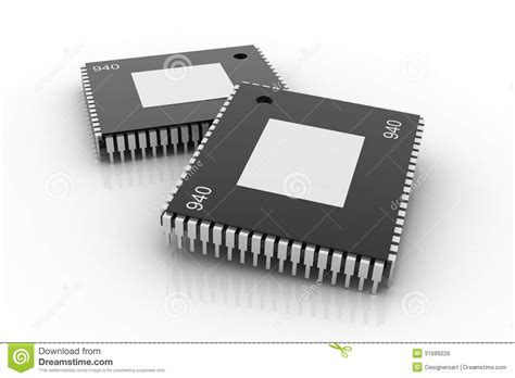 integrated circuit chip electronic integrated circuit chip royalty free stock image image 31699226