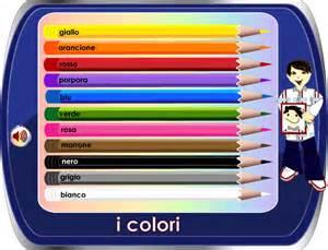 colors in italian italian vocabulary human colours