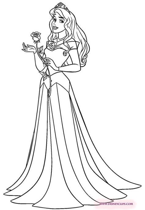 coloring pages for princess aurora princess aurora coloring page doodles and coloring pages