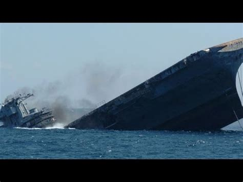 biggest boat ever sunk sinking an aircraft carrier ship was intentionally sunk
