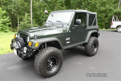 Jeep Willys Edition For Sale Find Used 2005 Jeep Wrangler Willys Edition In