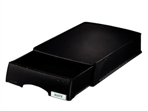 Letter Tray With Drawer leitz plus drawer unit letter tray black