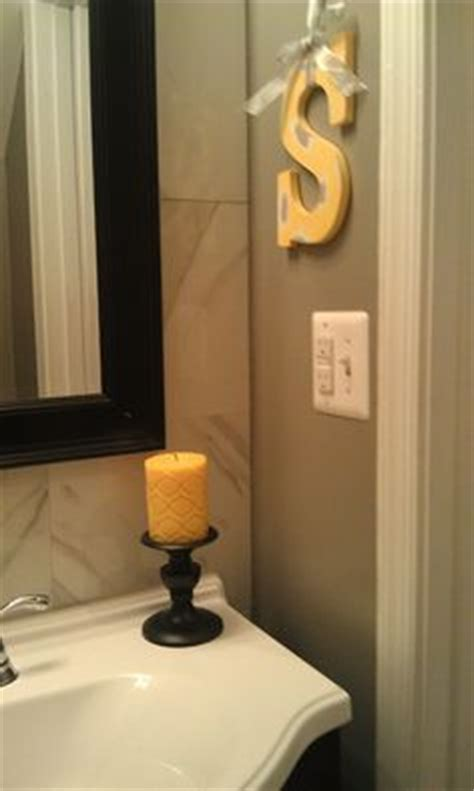 black and yellow bathroom ideas 1000 images about guest bathroom ideas on pinterest