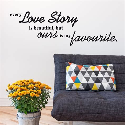 story wall stickers story wall sticker quote wall chimp uk