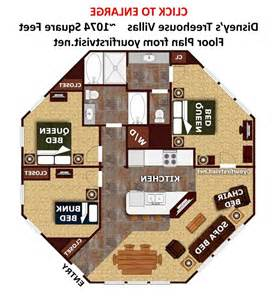treehouse villas floor plan disney saratoga springs two bedroom villa photos