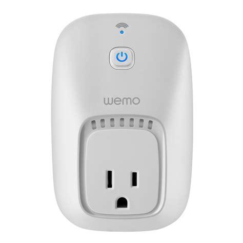 amazon wemo light switch amazon com wemo switch wi fi enabled control your