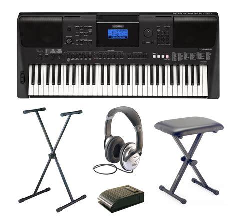 Keyboard Yamaha E453 yamaha psr e453 complete home keyboard package includes psr e453 keyboard stand headphones