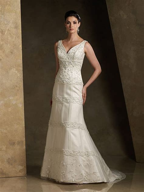 great options for modest sleeveless wedding gowns