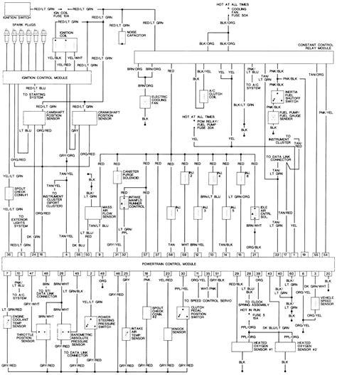 1993 ford taurus 3 0 engine diagram 1993 free engine