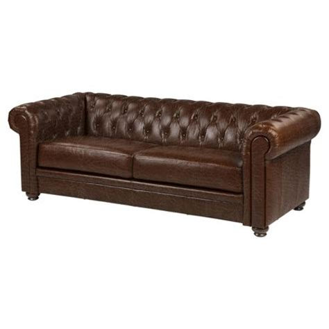 chocolate brown leather sofa buy mortimer large sofa chocolate brown leather from our
