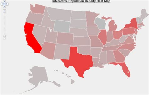 us population density map interactive data visualization heat map exle population density