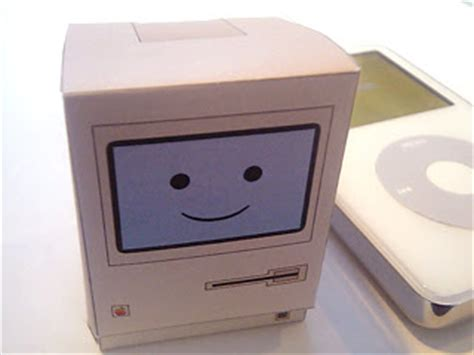 Apple Papercraft - apple mac papercraft for the faithful paperkraft net