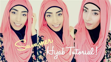 tutorial hijab youtube 2015 hijab tutorial for spring summer youtube