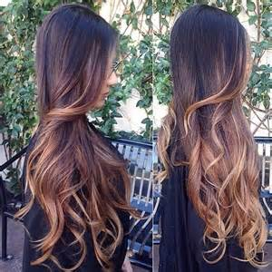 ombre extensions top 20 best balayage hairstyles for brown black hair color vpfashion