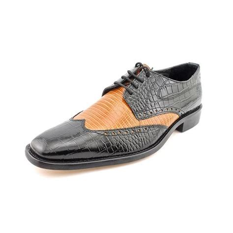 9 Wide Mens Dress Shoes by Shop S Amato Leather Dress Shoes Wide Size 9 5 Free Shipping Today