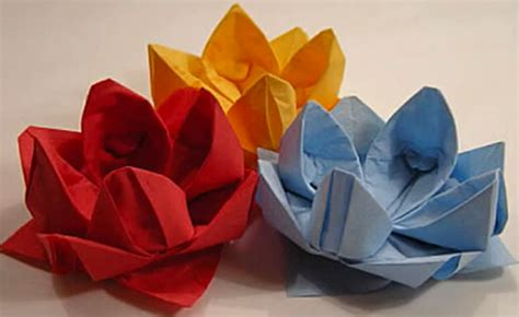 fiori origami tutorial fiori origami per bambini
