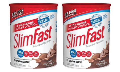 v weight loss shakes slimfast shake mix 2 pack groupon goods