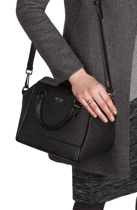 Mat Nat by Matt Nat Carrie Dwell Satchel Bag In Black