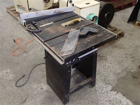 rockwell model 9 table saw rockwell homecraft table saw model 9