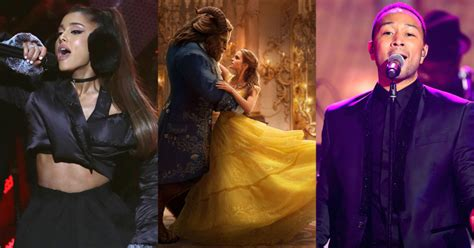 and the beast song tale as as time grande and legend to sing and the beast