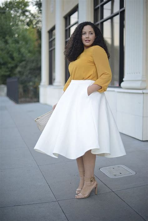 22 ways to wear a midi skirt