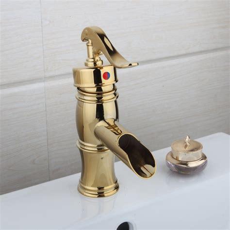 Lem Kran nostalgische gouden watervalkraan type lem design gouden