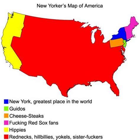 america map new york new yorker s map of america imgbit