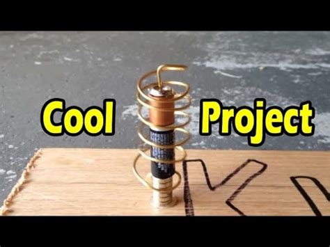 cool diy electrical projects cool and electrictity school science project homopolar motor