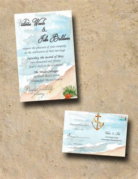Wedding Invitations With Rsvp