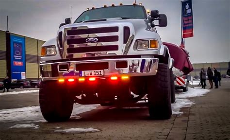 how big a boat can you trailer epic ford f650 with boat trailer a really big thing