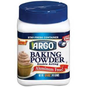 argo baking powder double acting aluminum free 12 oz