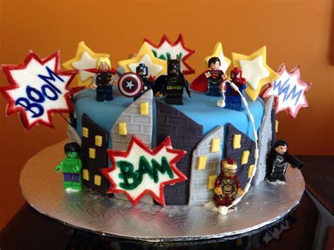 Avengers Lego  Ee  Birthday Ee   Cake Kalebs  Ee  Birthday Ee    Ee  Ideas Ee
