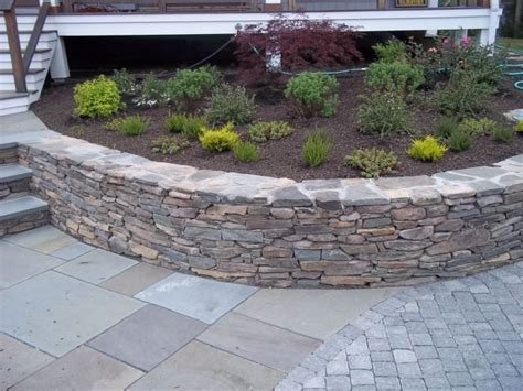 Paver Wall 1000 Images About Back Patio Steps On