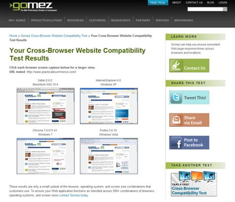 browser test how to test a website on different browsers practical