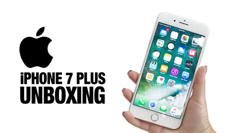 Iphone 7 Plus 256gb Free Silicon Bnib Garansi Internasional 1 iphone 7 unboxing silver 256 gb iphone 7 plus silicone white