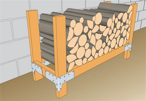 log holder simply build it