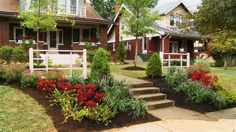 Home Front Yard Design | simple front garden design ideas landscaping ideas for