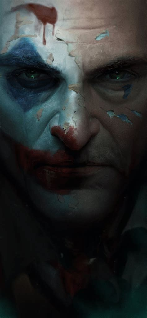 joker  closeup art iphone  wallpapers