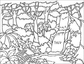 jungle coloring pages free printable rainforest coloring pages az coloring
