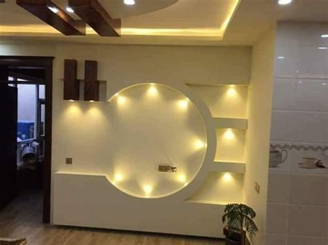 gypsum wall design works home decoration service