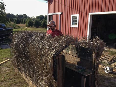 cheap layout hunting blinds build your own duck blind a diy approach waterfowl