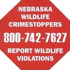 lincoln nebraska crime stoppers nebraska wildlife crimestoppers