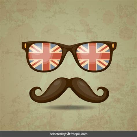 imagenes hipster para celular bigote hipster y gafas descargar vectores gratis