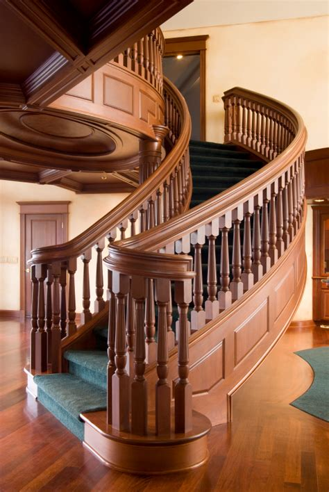 Wood Stair Railing Staircase Railings Designs Global Railing Inc
