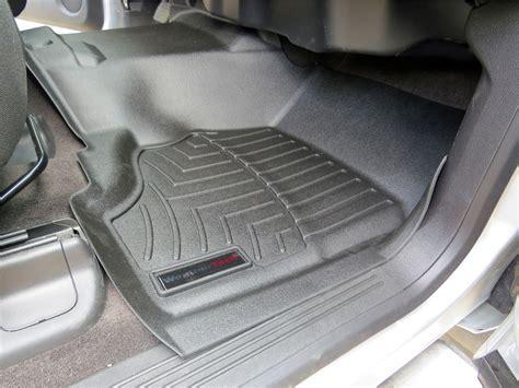 Floor Mats For 2013 Chevy Silverado by Weathertech Front Auto Floor Mat Single Black