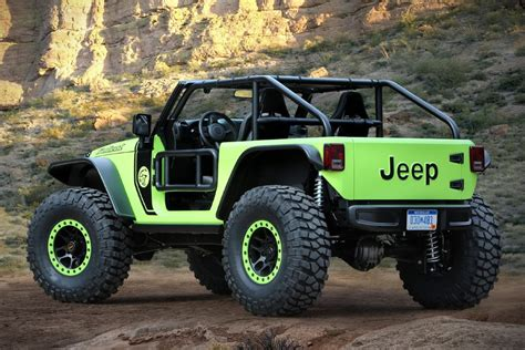 jeep wrangler concepts 2017 jeep wrangler trailcat concept hiconsumption