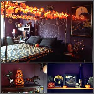 How To Decorate A Room For Halloween Halloween Bedroom Decor Pinterest