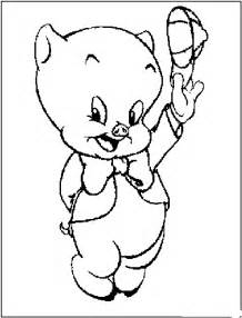 looney tunes coloring pages porky pig coloring pages looney tunes