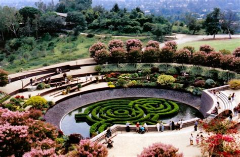 Landscape Architecture Los Angeles Getty Museum Los Angeles Getty Center Los Angeles